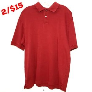 Arrow Men's Red Polo Shirt Size M